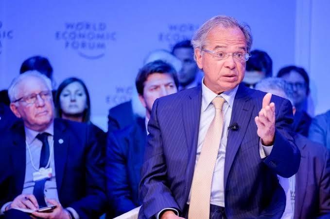Guedes em Davos