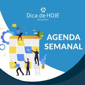 Read more about the article Agenda  Semanal: Empresas que divulgam resultados  1T/2020,dados da China, Juros nos EUA e Inflação oficial no Brasil